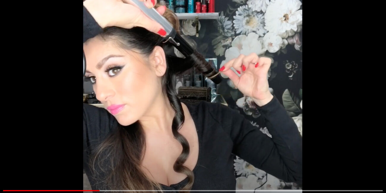 TURBOPOWER® FORMACHROME CURLING WAND